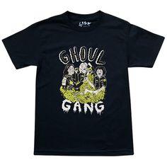 Ghoul Gang Black Tee