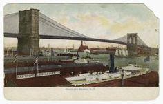 Brooklyn Bridge, N. Y. (ca. 190-)