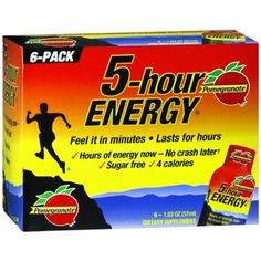 I'm learning all about 5-Hour Energy Pomegranate Energy Shot at @Influenster!
