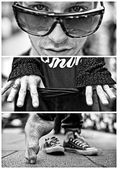 Triptychs of Strangers #15, The Formidable Dancer - Hamburg | Flickr: Intercambio de fotos