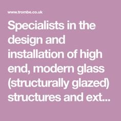Specialists in the design and installation of high end, modern glass (structurally glazed) structures and extensions. Lean To Conservatory, Conservatory Extension, Conservatory Kitchen, Conservatory Ideas, Glass Cube, Glass Boxes, Contemporary Barn, Glass Extension, Glass Room