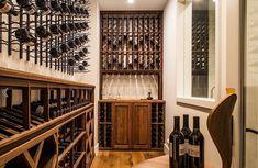 La Cache Wine Credenza : Custom built wine storage credenza by cellar impressions