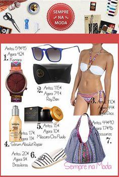 Sempre na Moda - Sugestões de Agosto #Goodfashion #Blogs #SemprenaModa