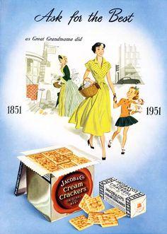 1951 Jacob's Cream Crackers
