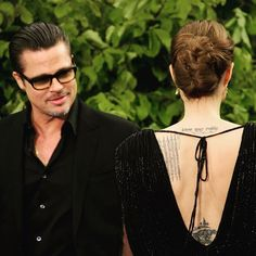 Brad and Angelina #bradpitt #angelinajoliepitt #angelinajolie #brangelina #mrandmrspitt #love #onelove #perfect #beautiful #wonderful #couple