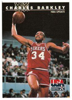 Charles Barkley # 1 - 1992 Skybox USA Team Basketball