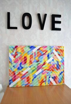 7 Breath-taking Electric Wood Art Diy You Should Try. Diy Wall Art Canvas New Excellent Ideas Canvas Wall Art Https I Diy Canvas Art, Canvas Crafts, Diy Wall Art, Diy Wall Decor, Diy Art, Canvas Ideas, Blank Canvas, Canvas Paintings, Large Canvas