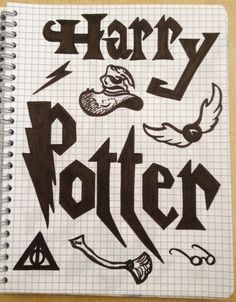 Fandom's drawing ~ Harry Potter, sorting hat, choixpeau, golden snitch, vif d'or -Coline210