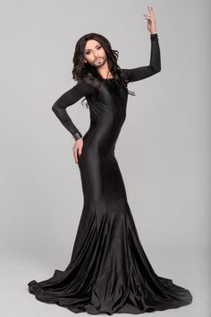 Conchita Wurst, character/persona, musician and winner of Eurovision 2014.