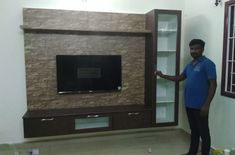 Tv Cabinet Design Modern, Modern Tv Unit Designs, Modern Tv Wall Units, Living Room Tv Unit Designs, Tv Wall Design, Lcd Unit Design, Lcd Panel Design, Tv Unit Furniture Design, Tv Unit Interior Design