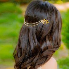 Coiffure accessoires bijoux de tête