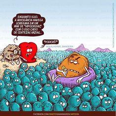 Guilherme Bandeira (@guilherme_bandeira) | Instagram photos and videos Heart Vs Mind, Funny Cartoons, Funny Memes, Awkward Yeti, Little Bit, Faith Hope Love, Funny Love, Haha, Have Fun