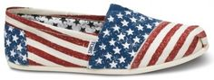 @Toms goes for the stars 'n' stripes. Patriotic pedestrian, anyone?