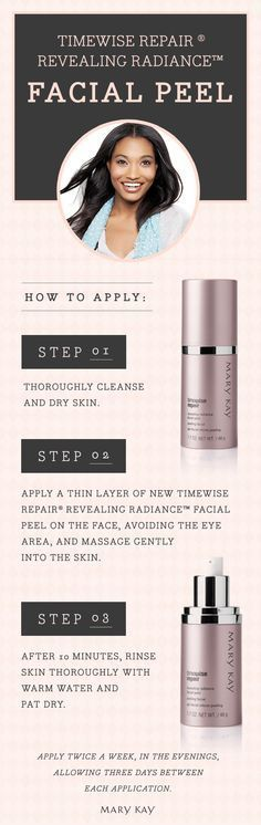 Thanks to the power of glycolic acid, skin's own natural renewal process is enhanced as younger-looking, more radiant skin is revealed. Skin looks brighter. Skin texture is significantly improved. Fine lines and wrinkles look reduced. Skin tone looks more even. | Mary Kay