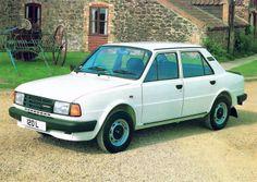 Škoda Estelle Two 120 L (Type Bugatti, Lamborghini, Volkswagen, Porsche, Audi A4, Car Ins, Old Cars, 4x4, Classic Cars