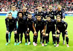 Equipos de fútbol: REAL MADRID contra Bayern Munich 12/04/2017