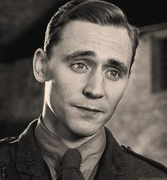 Tom Hiddleston  from War Horse playing Captain James Nicholls. He was my favorite, till they killed him off in the movie, that is. I knew that he would die because it said so in the book, but they made him so likable in the film that when he died, I was devastated.