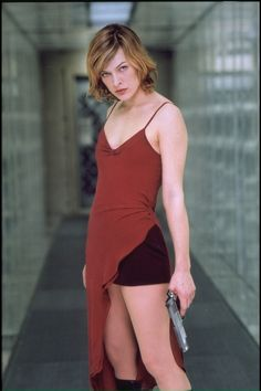 There's just something about a beautiful women with a loaded semiautomatic weapon....