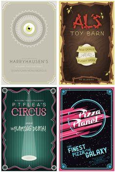 Mario Graciotti's Pixar Establishment series