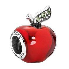 PANDORA Disney Charm Snow White's Apple 791572EN73