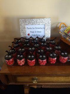 Ladybug party favors