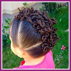 Mohawk Fun hair style for little girls