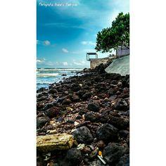 #praia #mar #céu #amanhecer #paraiso #pedras