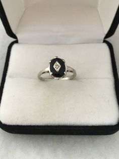 A personal favorite from my Etsy shop https://www.etsy.com/listing/525771545/old-vintage-10k-gold-diamond-central
