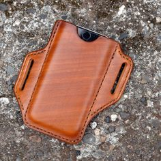 Custom Leather, Tan Leather, Iphone Holster, Handmade Leather Wallet, Leather Phone Case, Leather Working, Iphone Cases, Unique Jewelry, Handmade Gifts