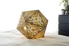 Sacred Geometry Icozo Pendant Light  #cozodesign