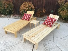 I HEART Ana White Outdoor Chaise | Do It Yourself Home Projects from Ana White