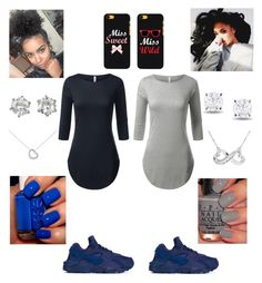 """""""Bestfraaand"""" by randomray123 ❤ liked on Polyvore featuring NIKE, CC, Miadora, Juicy Couture, Blue Nile and Paloma Picasso"""