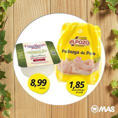 La combinación perfecta: ¡pavo y queso fresco! Ideal para un aperitivo ligero ;-) #VidaSana #NosCuidamos