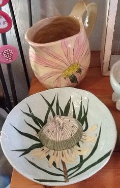 Gemma Orkin! Pottery Plates, Ceramic Plates, Decorative Plates, Pottery Ideas, Clay Art, Decoration, South Africa, Artisan, Arts And Crafts
