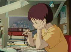 Art Studio Ghibli, Studio Ghibli Movies, Anime Manga, Anime Art, Anime Guys, Character Illustration, Digital Illustration, Figure Sketching, Retro Images