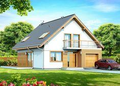 Diona Bis Fot. Domplan #Domowy.pl #projektdomu #przytulnydom #projekt
