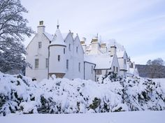 Dating back to the 1260s, this estate was once the home of the Clan Murray, and is fittingly nestled in the Scottish Highlands.