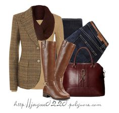"""""""Ralph Lauren Blazer"""" by jaycee0220 ❤ liked on Polyvore featuring Paige Denim, Dorothy Perkins, Polo Ralph Lauren, Linea, Ralph Lauren Blue Label, London Fog and Michael Kors"""