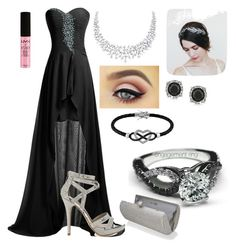 """""""Untitled #2"""" by hanna19134 on Polyvore featuring Michael Antonio, NYX, Jewel Exclusive and Mark Broumand"""