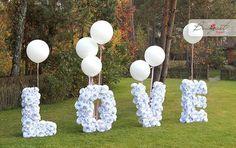 LOVE - фотозона на свадьбе