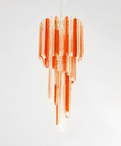 stunner. // murano glass chandelier