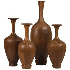 Antique Vases For Sale at Contemporary Vases, Modern Vases, Wood Vase, Wood Bowls, Vase Centerpieces, Vases Decor, Wood Turning Projects, Lathe Projects, Wood Furniture Legs