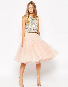 NEEDLE & THREAD Needle & Thread Voluminous Tulle Ballet Skirt
