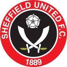 The Blades, Sheffield United Football Club. Football Team Logos, Soccer Logo, Best Football Team, Arsenal Football, Football Match, Sport Football, Sports Logos, Soccer Teams, Sports Teams