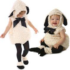 ヴィンテージラム子羊幼児コスチューム年賀状羊ヒツジ素材かわいいモフモフひつじ着ぐるみ