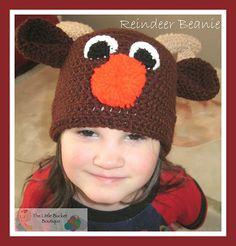 Ravelry: Reindeer Beanie pattern by Elizabeth Roggasch