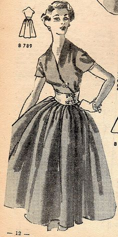 great Day dress 1952