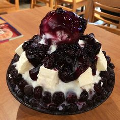 Blueberry Cheesecake Bingsu Share your dessert snap with us tag #dessertbb