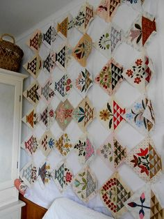Supergoof Quilts Sweet William by Susan Smith Patchwork on Stoneleigh
