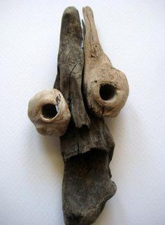 driftwood mask